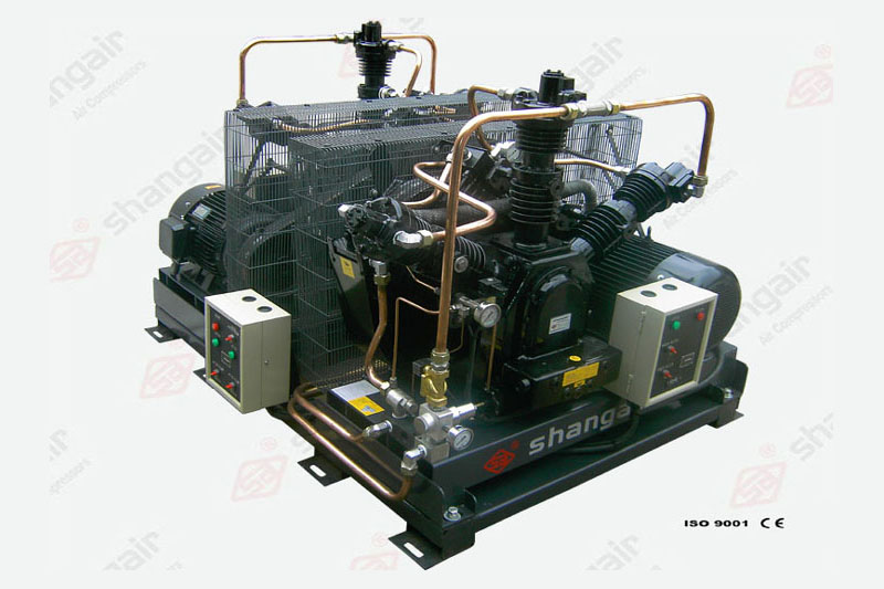 41WZ Series Booster Air Compressor (Double-Engine Set)